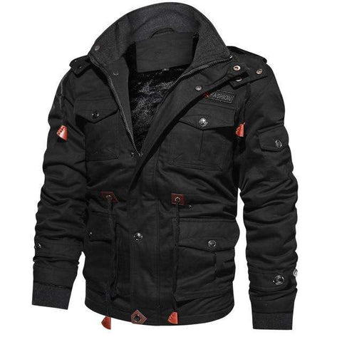 Winter Warm Hooded Thermal Thick Military Fleece Jackets