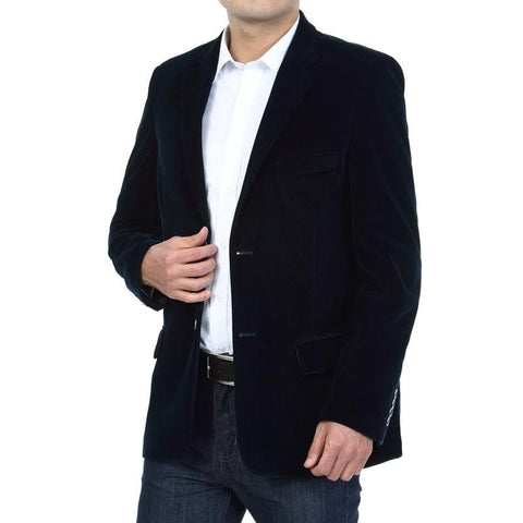 Smart Casual Cotton Corduroy Blazers