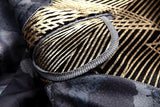 Single Breasted Luxury Gold Stripes Slim Fit Blazer