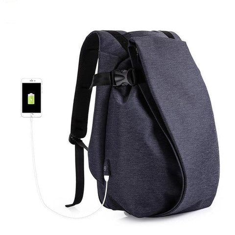 "Laptop 15.6"" USB Port Waterproof Large Capacity Travel Backpack"