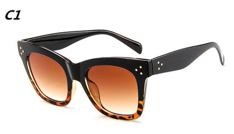 Rectangle Fashion Luxury Sunglasses
