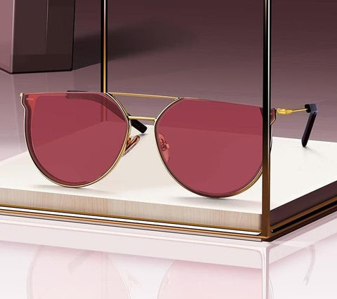 Luxury Cat Eye Fashion Trending UV400 Protection Sunglasses
