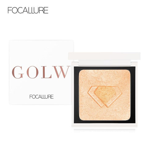 Face Highlighter Palette Glow Pressed Powder Brighten Face Makeup Illuminator Palette