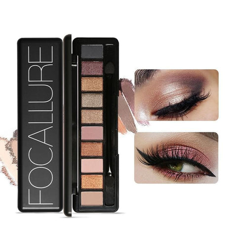Pigmented Eyeshadow Palette Professional Glitter Eyeshadow Pallete