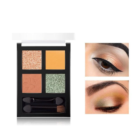 Long lasting Waterproof Glitter Eyeshadow Palette