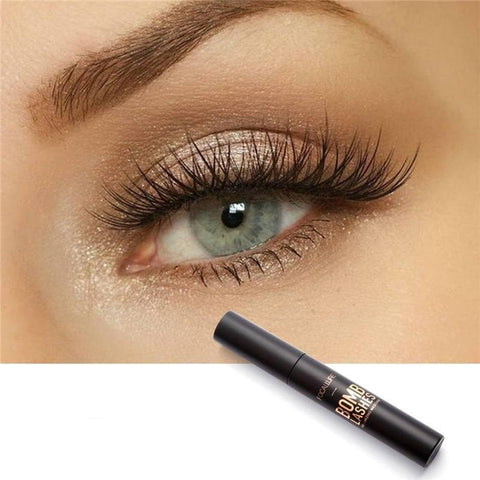 3D Fiber Black Mascara Long Eyelash Lengthening Curling waterproof Eye lashes