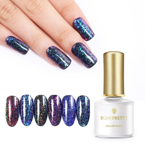 Chameleon Glitter Gel Polish Nail Art Gel Soak Off Nail Gel Varnish Lacquer