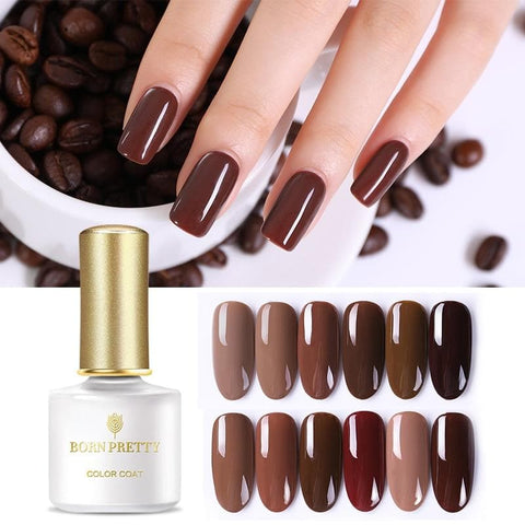 Caramel Color Series 6ml Nail Gel Polish