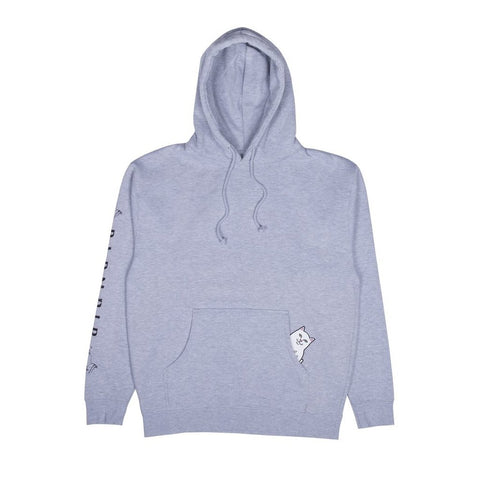 Rip N Dip Lord Nermal Hoodie GREY HEATHER