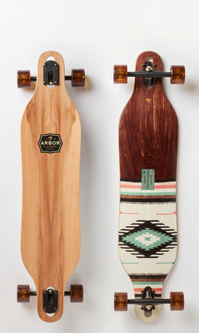 "Arbor Longboard Axis 37"" Flagship Complete"