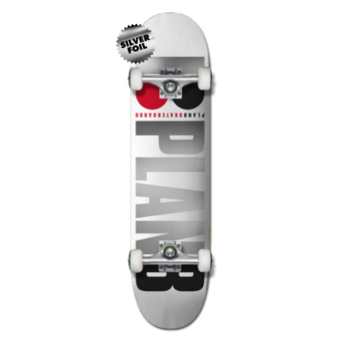 Plan B Complete Team OG White 7.75""
