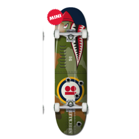 Plan B Complete Sheckler Shark Mini 7.625""