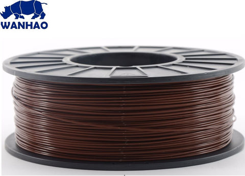 Wanhao Brown ABS 1.75 mm 1 KG Filament for 3d printer - Premium Quality - Robodo
