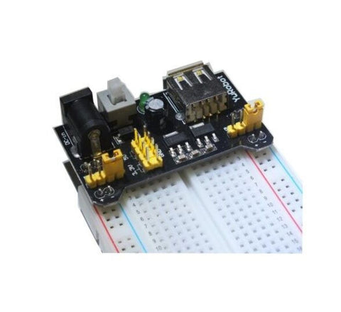 MB102 Bread Board + 3.3V & 5V Power Supply Module for Arduino Raspberry Pi - Robodo