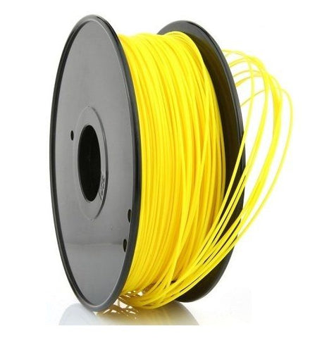 Yellow ABS 1.75 mm 1 KG Filament for 3d printer for MakerBot, RepRap and UP