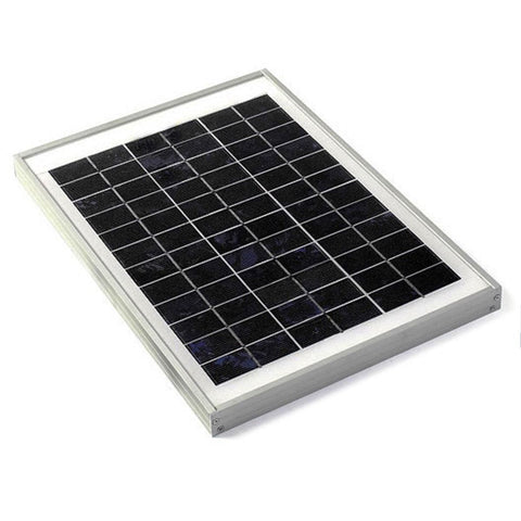 10W Solar Panel, 36 cell, Solar Plate - High Quality (10 W / 10 Watts)
