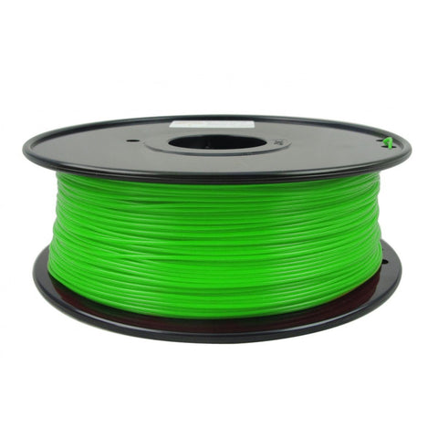 Green PLA1.75 mm 1 KG Filament for 3d printer