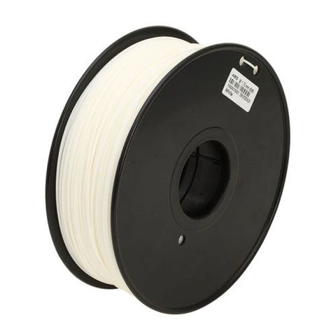 White ABS 1.75 mm 1 KG Filament for 3d printer for MakerBot, RepRap and UP