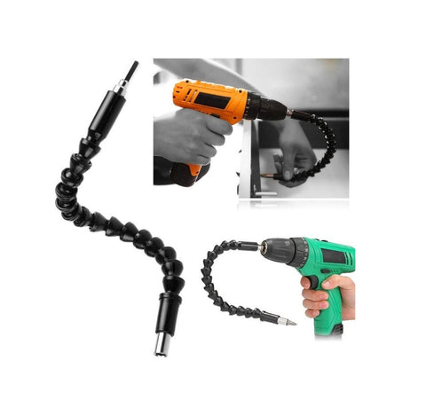 Drillpro 290mm Drill Bits Accessories Electric Drill Tools Flexible Shaft Bits Extension Screwdriver Drill Bit Power Tool
