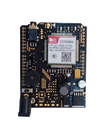SIM800A Quadband GSM / GPRS Module convertible as Shield for Arduino