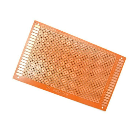 5 Pieces General Purpose / Perforated PCB Boards 9 x 15 cm. ( Perfboard )