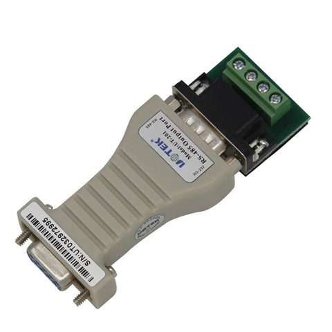 UT-203 Twisted -pair / STP RS232 To RS485 Serial Converter Adapter With Terminal Board