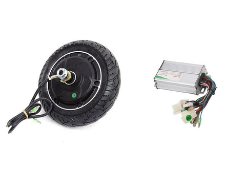 8 Inch 350w 24v Brushless E-bike Wheels Scooter Hub Motor + Controller