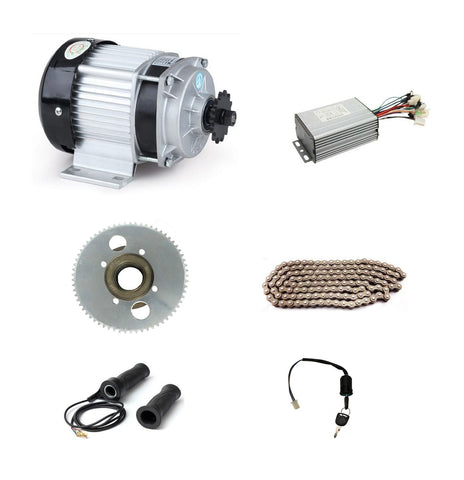 DC 48V 1500W BM1418ZXF brushless motor, electric bicycle kit, DIY E-Tricycle For Medium And Heavy Load E-Tricycle ebike