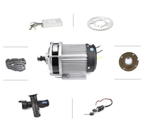 DC 60V 3000W BM1412 brushless motor, electric bicycle kit, DIY E-Tricycle For Medium And Heavy Load E-Tricycle ebike