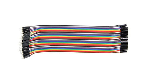 Male to Female Jumper Wires (40 pcs)