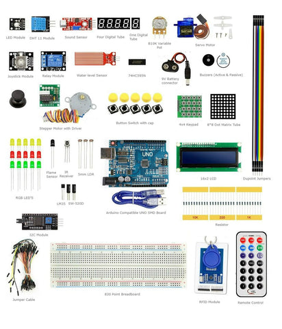 Robodo - Arduino RFID learning kit V5 with Instruction CD & Uno SMD