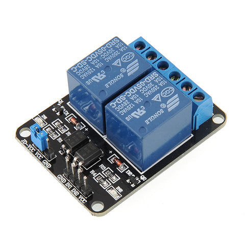 5V 2CH 2-Channel Relay Module TTL
