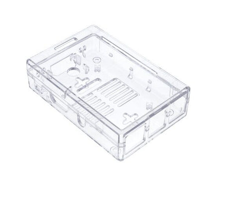 Raspberry Pi and Components2 and 3 Model B/B+ ABS Transparent Modular case - Robodo