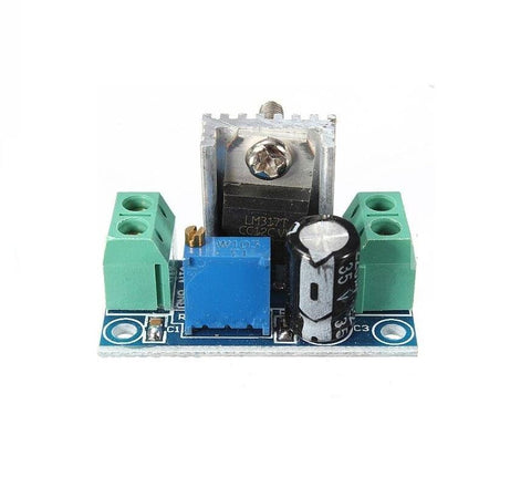 LM317 DC-DC step-down DC converter circuit board power supply module