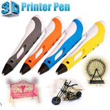 3D printer pen with Temperature Display for ABS/PLA 1.75mm Filament