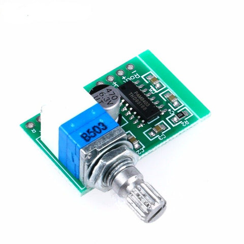 Mini PAM8403 5V 2Channel USB Power Audio Amplifier Board Volume Control HC
