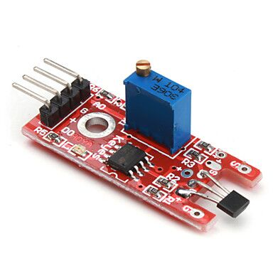Linear Hall Magnetic Module For Arduino AVR PIC - Robodo