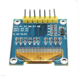 7Pin 0.96 Inch IIC/SPI Serial 128x64 White OLED Display Module for Arduino