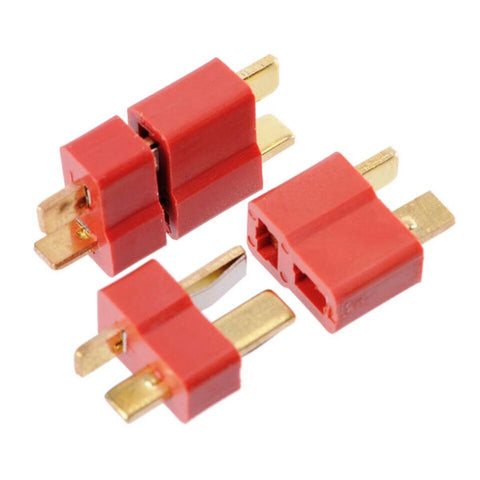 2pairs x Deans Style XT Plug Nylon T Connector Male/Female pair - Robodo