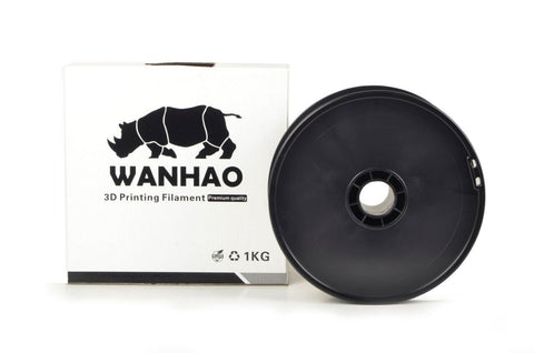 Wanhao Black HIPS 1.75 mm 1 KG Filament for 3d printer - Premium Quality
