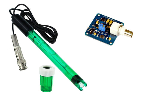PH Sensor Module & PH electrode Probe for Arduino, AVR, PIC