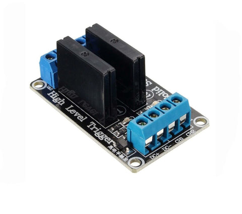 Solid Relay Module 2 channel 5v low level trigger for Arduino