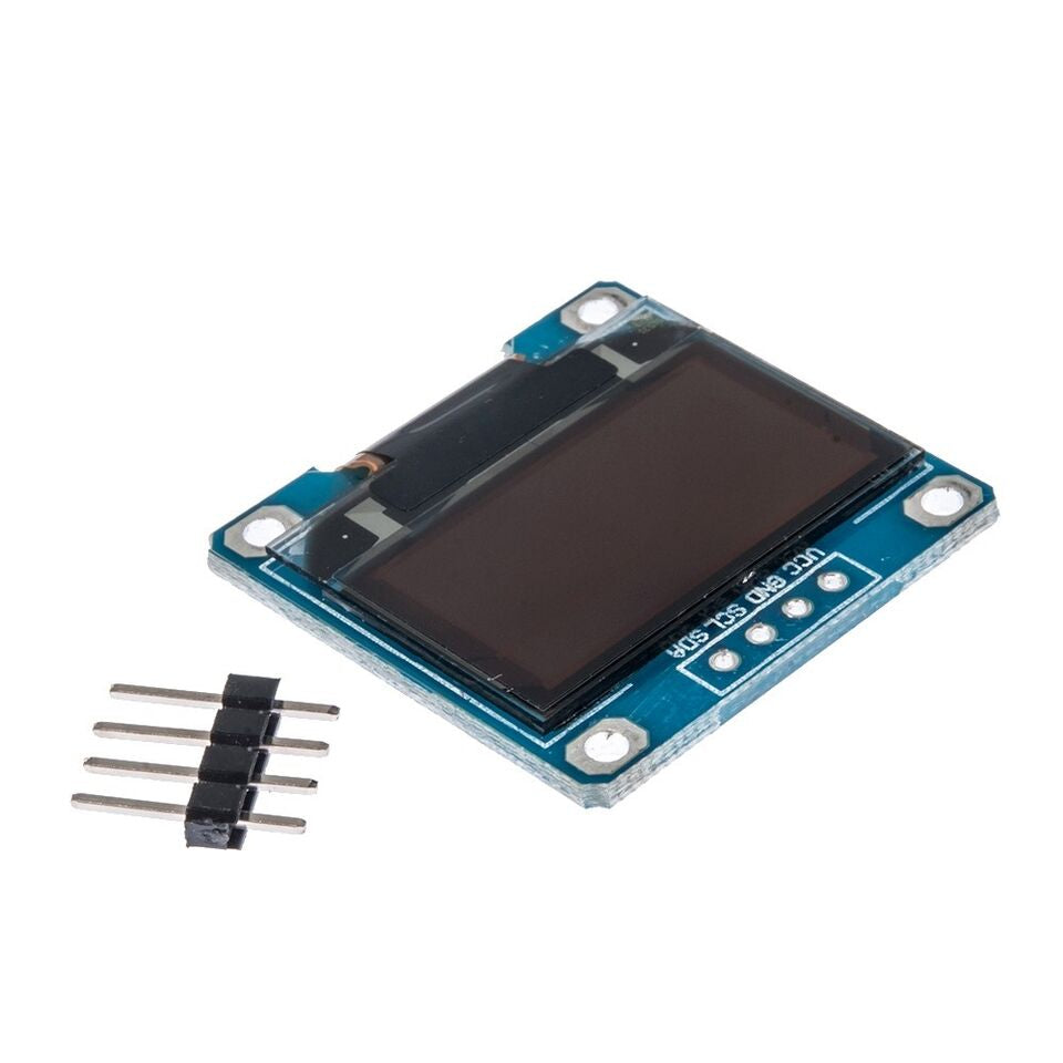 0 96 inch 4Pin 128 x 64 Blue OLED Display Module For Arduino IIC / I2C