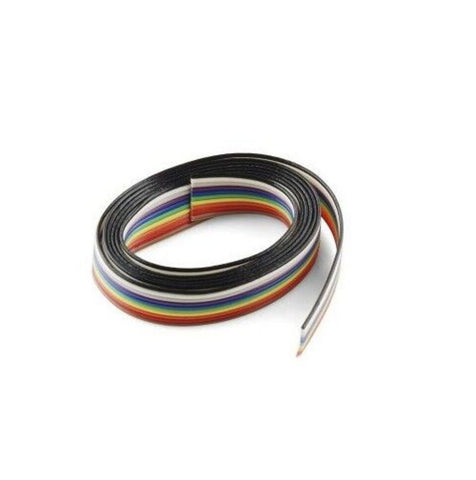 10 Meter x Ribbon Flat Cable Wire Strip Repairing Soldering CORE 10 Strand
