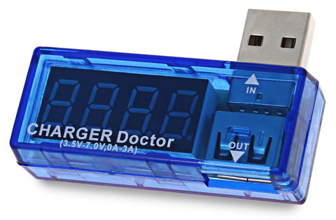 USB charger doctor battery tester power detector voltage current meter