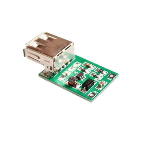 DC-DC 0.9V-5V to 5V 600MA Step-Up Booster USB Mobile Power Supply Module - Robodo