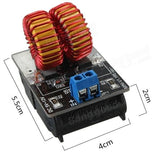 5v-12v ZVS induction low voltage heating power supply module board + coil - Robodo
