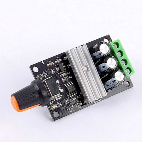 PWM DC 6V 12V 24V 28V 3A Motor Speed Regulator Control Switch for DC Motors - Robodo