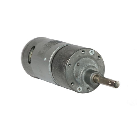 12v DC RS-37-555 Side Shaft Gear, Geared Motor - 100 rpm - Robodo
