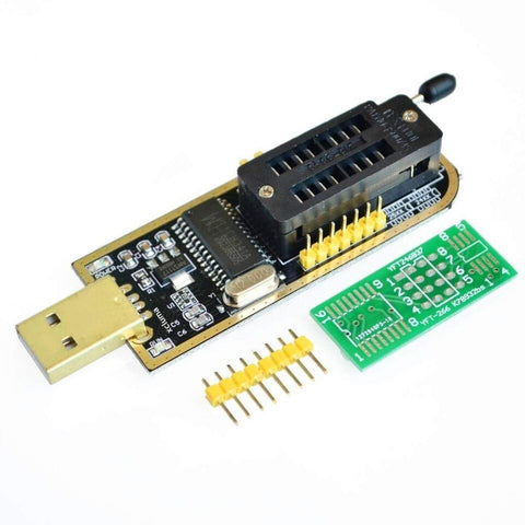 USB Programmer CH341A Series Burner Chip 24 Eeprom Bios Writer 25 SPI Flash Board